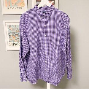 Old Navy Checkered Button-Down Shirt XL
